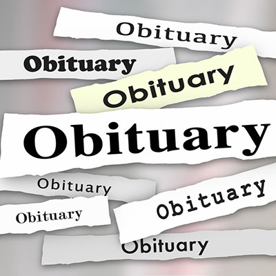 How to Write an Obituary – Part 1